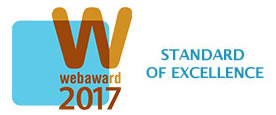 Standard of Excellence WebAward 2017