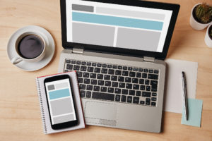 Mobile first design strategy