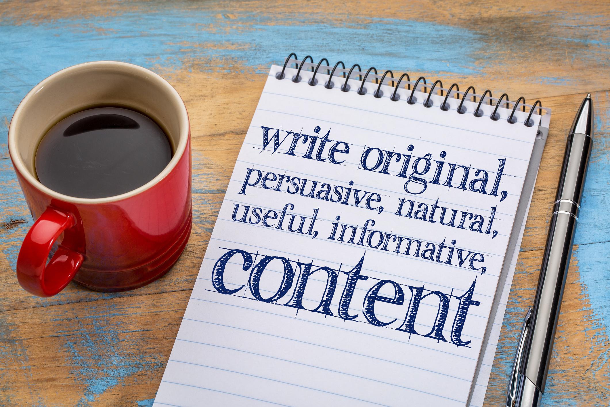 Publish relavant content